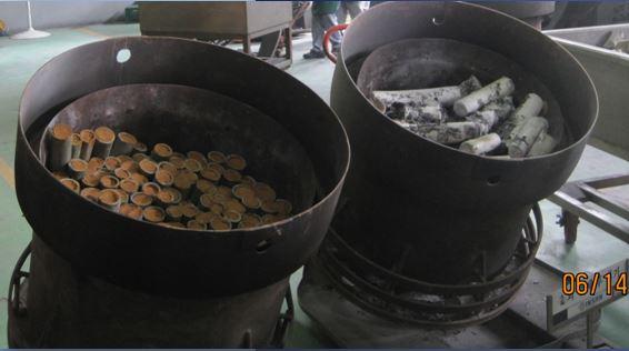 Pražení soli v kotlích