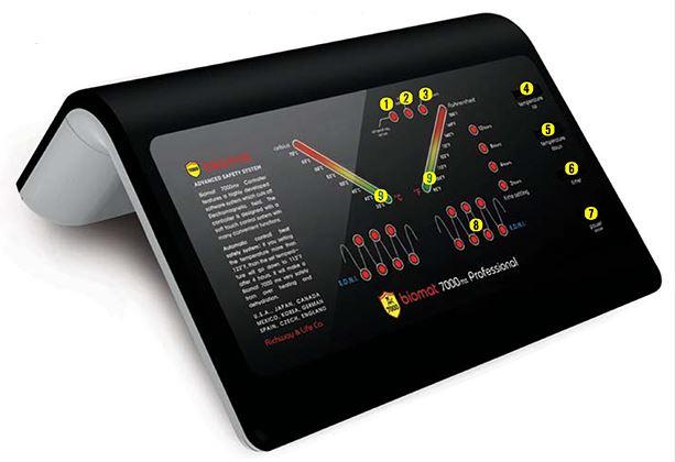 ovládání BioMat Professional