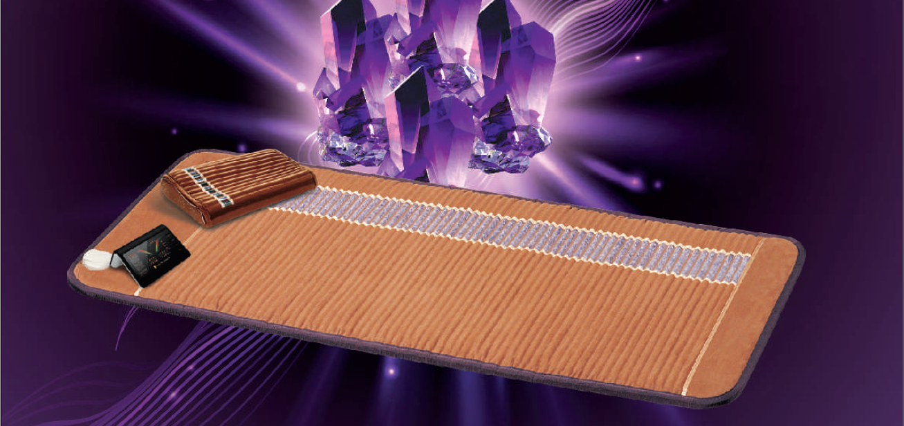 AMETHYST BIOMAT™ Home source of anions and infrared radiation