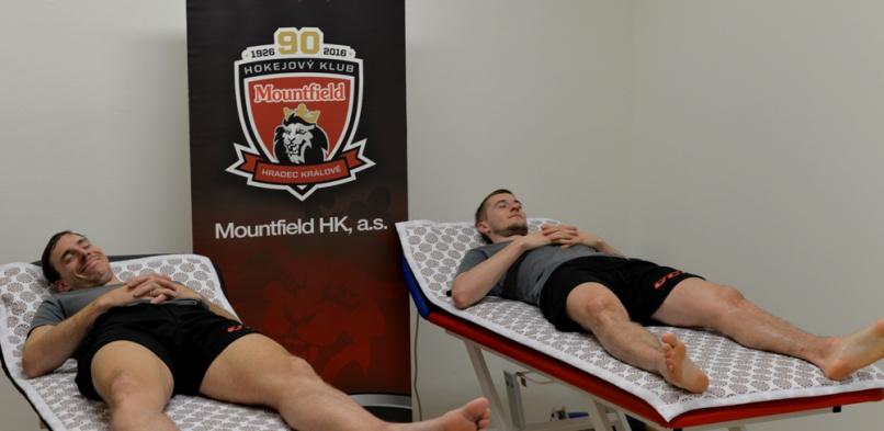 Hokejový klub Mountfield HK - Jiří Šimánek a Ondřej Kacetl
